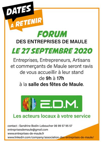 Forum des entreprises de Maule